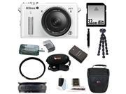 Nikon 1 AW1 14.2 MP Digital Camera with 11-27.5mm f/3.5-5.6 1 NIKKOR Lens and 32GB Best Accessory Kit