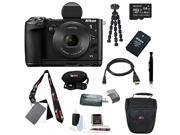 Nikon 1 V3 Digital Camera with 1 NIKKOR 10-30mm PD-Zoom Lens and 64GB Deluxe Accessory Kit