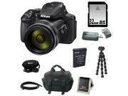 NIKON P900: Nikon Coolpix P900 Camera with 32GB Accessory Kit