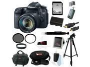 CANON 70D: Canon EOS 70D SLR CMOS 20.2MP Digital Camera EFS 18-135mm Lens + 32GB Memory Card + Tiffen 67mm UV Protector & Circular Polarizing Lens Filter + ACCESSORY KIT