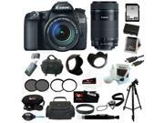 CANON 70D: Canon EOS 70D EFS 18-135mm IS STM Kit + Canon EF-S 55-250mm f/4-5.6 IS STM Lens + 32GB SD HC Memory Card + 67mm UV Protector + Replacement Battery for Canon + ACCESSORY KIT
