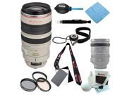 Canon EF 100-400MM F4.5-5.6L IS USM Telephoto Zoom Lens + Accessory Kit