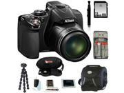 Nikon COOLPIX P530 Digital Camera (Black) with 32GB Deluxe Accessory Kit