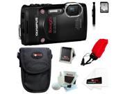 Olympus TG-850 Stylus Tough Digital Camera (Black) with 16GB Deluxe Accessory Kit