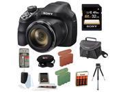 Sony Cyber-shot DSC-H400/B DSCH400 H400 Digital Camera + Sony 32GB SDHC/SDXC Memory Card + Small Gadget Camera Bag + Accessory Kit