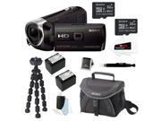 Sony HDR-PJ540/B 32GB HD Camcorder w/ built-in Projector + 32GB Accessory Kit