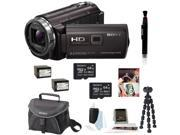 Sony HDR-PJ540/B HDRPJ540 PJ540 Full HD Handycam Camcorder with Built-in Projector (Black) + Sony 64GB Micro SD Card + Power Battery + Accessory Kit