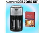 Coffee Maker by Cuisinart DGB-700BC Grind & Brew 12-cup Automatic Coffeemaker W/ Decalcifier 9SIA29P1JP9147