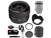 Canon EF 28mm f/1.8 USM Wide Angle Lens for Canon SLR Cameras + Tamrac Lens Case (Black) + Accessory Kit