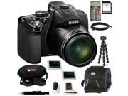 Nikon P530 COOLPIX Digital Camera (Black) with 64GB Deluxe Accessory Kit