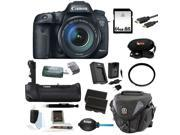 Canon EOS 7D Mark II Digital SLR Camera with 18-135mm IS STM Lens and Battery Grip Plus 64GB Deluxe Accessory Kit