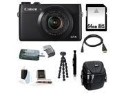 CANON G7: Canon PowerShot G7 IS Digital Camera Digital Camera with 64GB Deluxe Accessory Kit
