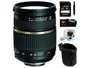 Tamron AF 28-75mm f/2.8 SP XR Di LD Aspherical (IF) Zoom Lens for Sony DSLR with Sony 16GB SDHC C10 Bundle