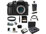 Panasonic GH4: LUMIX DMC-GH4K DMC-GH4KBODY GH4 16.05MP Digital Single Lens Mirrorless Camera with 128GB Deluxe Accessory Bundle