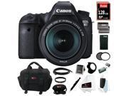 Canon 6D: EOS 6D 20.2MP Digital Camera with EF 24-105mm IS STM lens & 128GB Deluxe Accessory Kit
