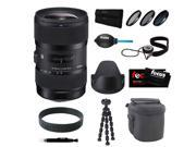 Sigma 18-35mm F1.8 DC HSM Zoom Lens for Canon DSLR Cameras w