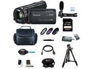 Panasonic HC-X920 3MOS Ultrafine Full HD Camcorder with 64GB Deluxe Accessory Bundle