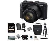 CANON G3: Canon PowerShot G3 X 20.2 Megapixel Digital Camera with 64GB Accessory Bundle