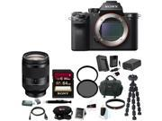 Sony A7R II: Sony Alpha a7RII Mirrorless Digital Camera (Body Only) with Sony 24-240mm f/3.5-6.3 OSS Lens and Accessory Bundle