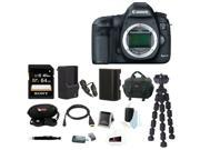 Canon EOS 5D Mark III DSLR Camera with Lithium-Ion Battery and 64GB SDXC Accessory Bundle (Body Only)