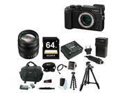 Panasonic DMC-GX8K LUMIX GX8 Interchangeable Lens (DSLM) Mirrorless Camera Body + Panasonic Lumix G X Vario 12-35mm f/2.8 Asph. Lens + Accessory Kit