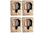 (4) Browning Trail Camera Security Box - BTCSB