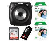 Fujifilm instax SQUARE SQ10 Hybrid Instant Camera w/SQUARE Instant Film Kit