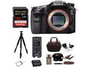 "Sony a99II 42.4MP Digital SLR Camera with 3"""" LCD, Black (ILCA99M2) Deluxe Bundle"" 9SIV07460R9845"
