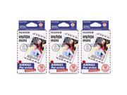 Fujifilm Instax Mini Airmail Film 3 pack