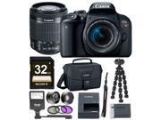 Canon EOS Rebel T7i DSLR Camera w/18-55mm lens & 32GB Premium Accessory Bundle