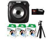 Fujifilm Instax SQUARE SQ10 Hybrid Instant Camera w/3 Film Packs & Tripod