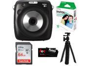Fujifilm instax SQUARE SQ10 Hybrid Instant Camera w/Instant Film & 64GB Kit