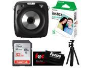 Fujifilm instax SQUARE SQ10 Hybrid Instant Camera w/Instant Film & 32GB Kit