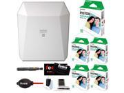 Fujifilm Instax Share SP-3 Smartphone Printer (White)  w/ SQ10 Film + Accessory