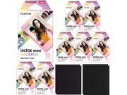 Fujifilm Instax Mini Macaron Frame Instant Film (80 Sheets) & Album Double Pack