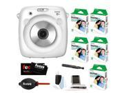 Fujifilm Instax SQ10 Instant Camera (White)  w/SQ10 Film Kit