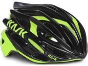 Kask Mojito Road Cycling Helmet (Black / Lime Green, Medium) 9SIV07474A2390