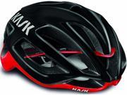 Kask Protone Road Cycling Helmet (Black / Red, Large) 9SIV0747AT5433