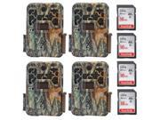 Browning Recon Force Extreme 20MP Game Camera and 16GB Card (4-Pack)