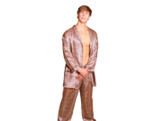 Lovely Day Lingerie Men's Animal Leopard Print Robe Set