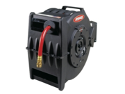 "Legacy Manufacturing Levelwind Retractable Hose Reel for Air or Water with 1/2"" ID x 50' Hose"
