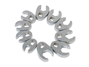 9710M 10-Piece 3/8 in. Drive Metric Flare Nut Crowfoot Wrench Set