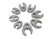"8 Piece 3/8"""" Drive Flare Nut Crowfoot Wrench Set"" 9SIABS34R75426"