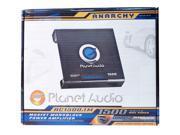Planet Audio AC1500.1M Anarchy 1500W Amplifier Car Auto Audio Amp with Remote