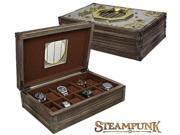 Steampunk Imperium 12-pc Watch Box (MSRP:$200)