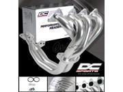 DC Sports 4-2-1 Ceramic Coated Performance Exhaust Manifold Header - Acura Integra RS / LS / GS 1994-2001 (2-Piece)