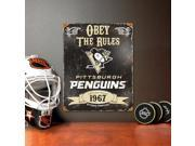 Pittsburgh Penguins Vintage Metal Sign 9SIV0W852U4844