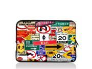 """Traffic signs 15"""" 15.4"""" 15.6"""" inch Notebook Laptop Case Sleeve Carrying bag for Apple MacBook Pro 15 15.4 /Dell Inspiron 15R Alienware M15X /ASUS A55 K55 N56/Sony E15 S15 EL2/ThinkPad E530"""