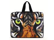 """Vivid Tiger Face 13"""" 13.3"""" inch Notebook Laptop Case Sleeve Carrying bag with Hide Handle for Apple Macbook pro 13 Air 13/Samsung 530 535U3/Dell XPS inspiron 13/ ASUS/SONY SD4/ThinkPad X1 E330"""