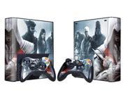 For Microsoft Xbox 360 E Skins Console Stickers Personalized Games Decals Wiht Controller Protector Covers - BOX1330-80